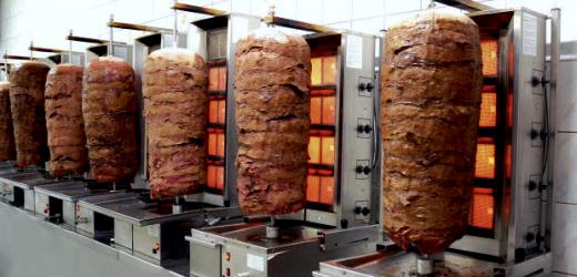 aparat kebab, echipamente HoReCa, aparat kebab/ shaorma