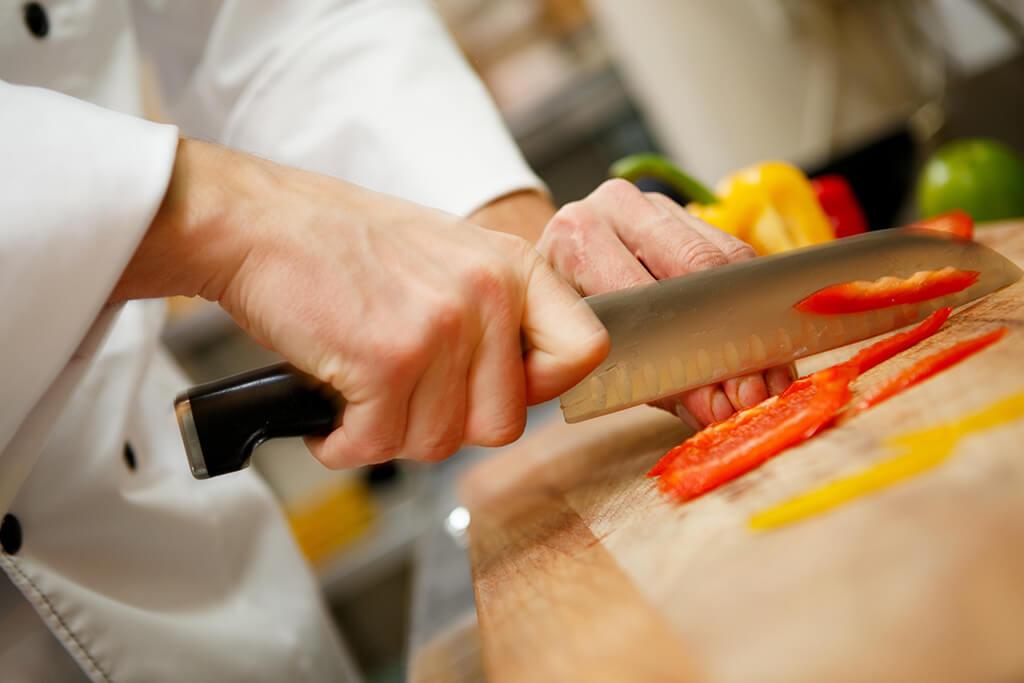 cutit chef, echipamente bucatarie