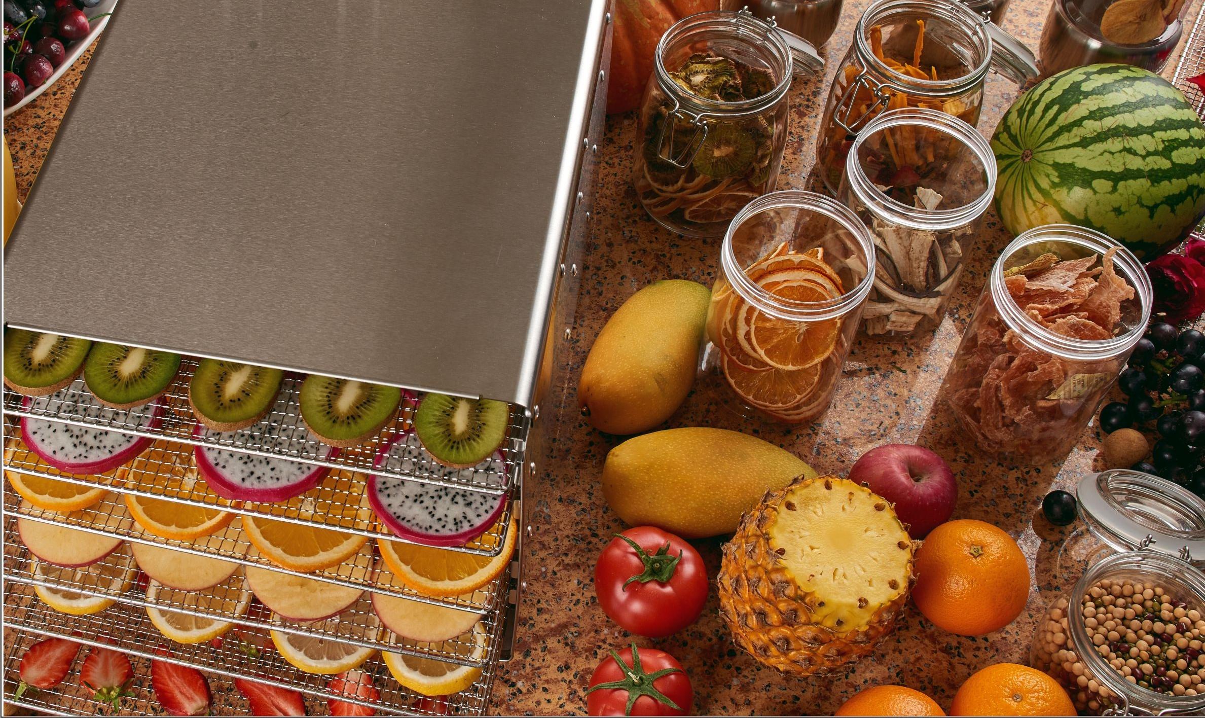 Deshidratoare    Aparate uscat fructe si legume