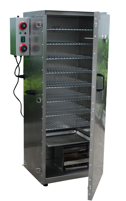 afumatoare electrica, afumatoare electrica profesionala, utilaje bucatarie, afumatoare electrica 8 rafturi