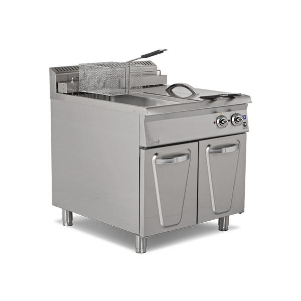 echipamente pentru bucatarii profesionale, bucatarie calda, friteuze profesionale, friteuza profesionala, friteuza profesionala pe gaz