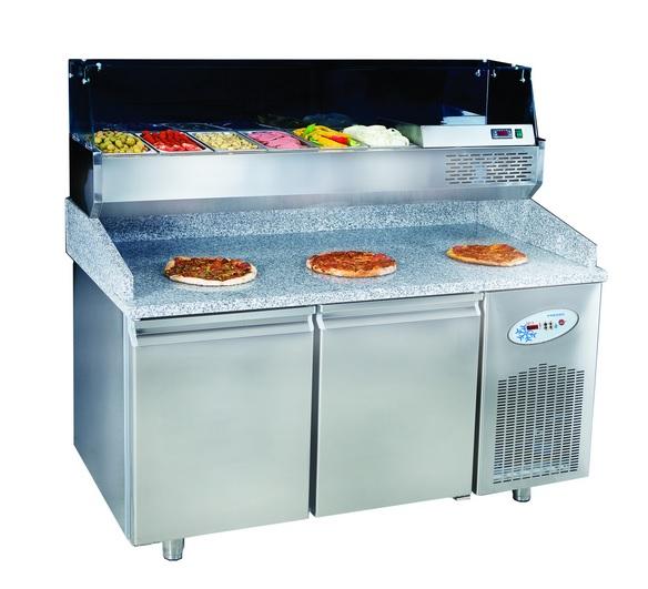 echipamente profesionale pizza, echipamente pizza, vitrina prezentare produse, cuptoare pizza, echipamente HoReCa