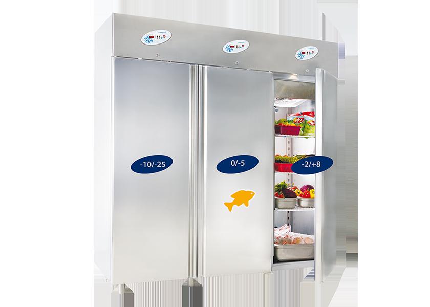 dulapuri frigorifice triple