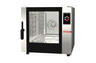 Cuptor profesional CrossWise pe gaz Combi, touch screen, 5 tavi GN 1/1 sau patiserie 600x400 mm