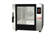 Cuptor profesional CrossWise pe gaz Combi, analog, 5 tavi GN 1/1 sau patiserie 600x400 mm