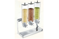Dispenser cereale triplu 3 x 4 litri