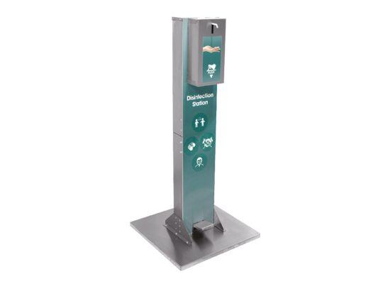 Stand de igienizare   Statie de dezinfectare a mainilor cu actionare la pedala