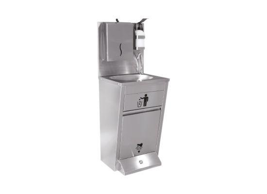 Stand de igienizare | Statie de spălare a mâinilor cu actionare la pedala