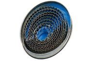 Forme patiserie - oval canelat