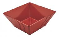 Bol melamina rectangular LUXOR - rosu
