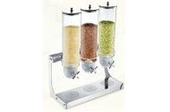 Dispenser cereale triplu 3 x 4 litri