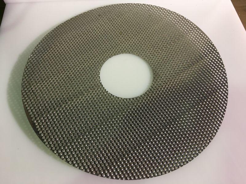 Plasa disc abraziv masina curatat cartofi HLP20