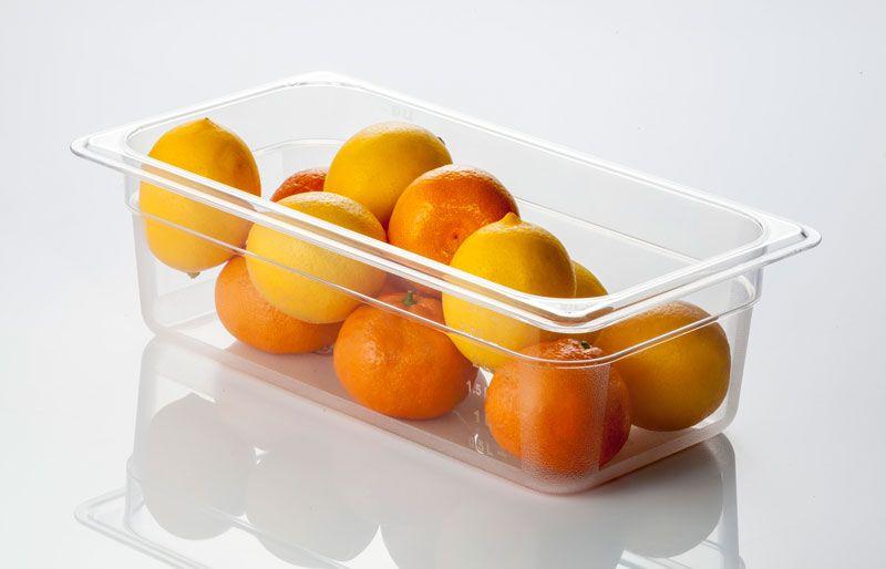 Tava gastronorm   GN 1/3-100 mm policarbonat