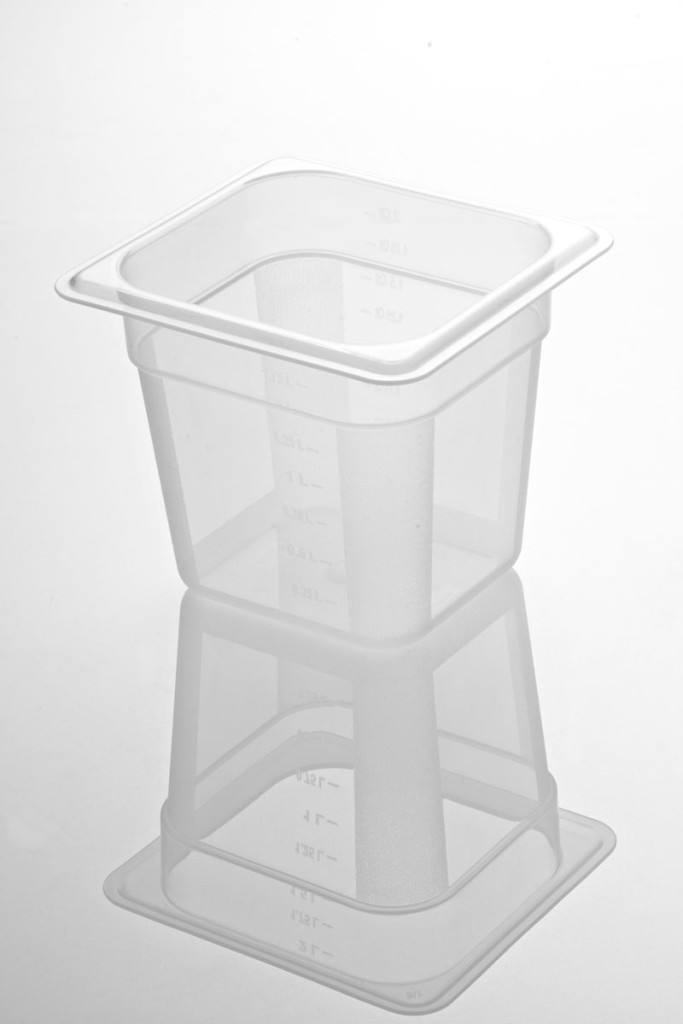Tava gastronorm | GN 1/6-150 mm policarbonat