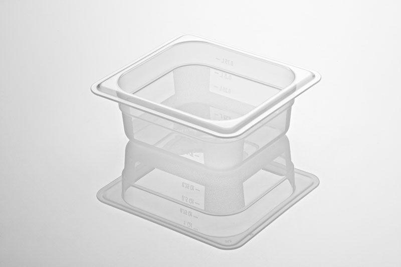 Tava gastronorm   GN 1/6-65 mm policarbonat