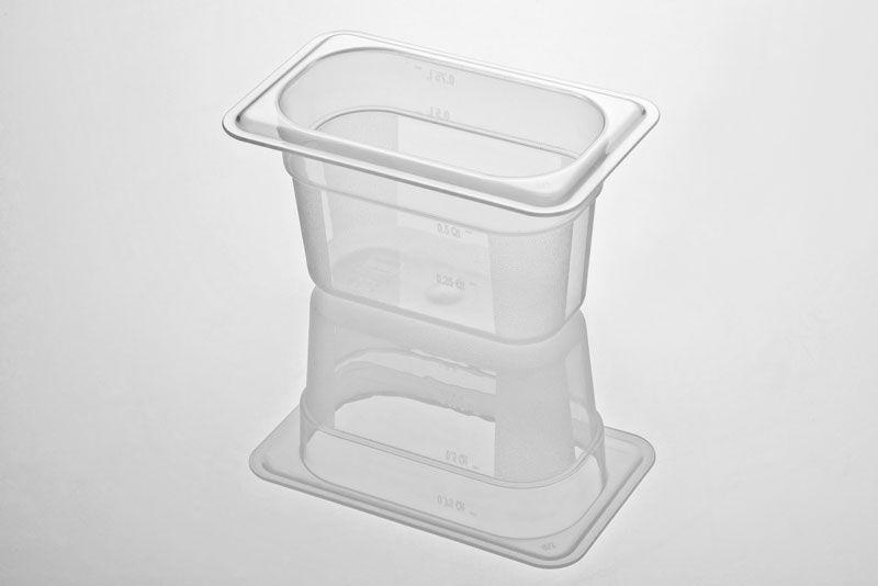 Tava gastronorm | GN 1/9-100 mm policarbonat