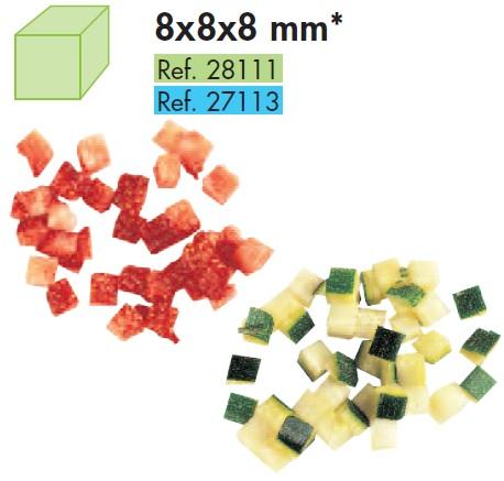 Disc cuburi 8x8x8 mm