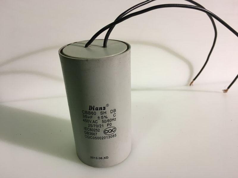 Condensator 35 mF masina curatat cartofi HLP15 / HLP20