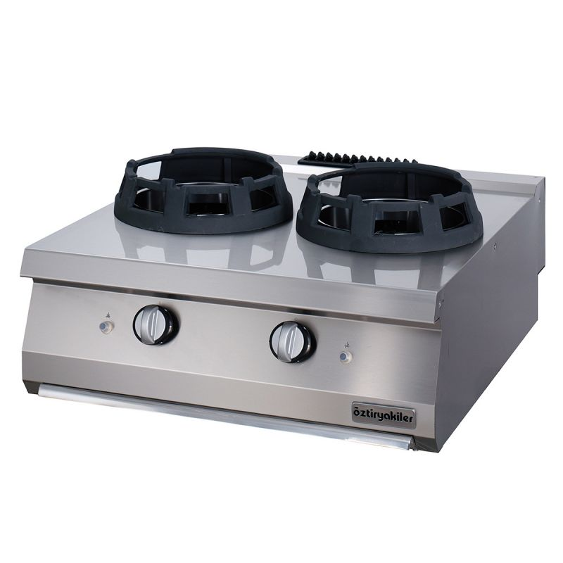 Masina de gatit | Aragaz profesional de banc pe gaz cu 2 arzatoare tip wok seria 900 - Ozti