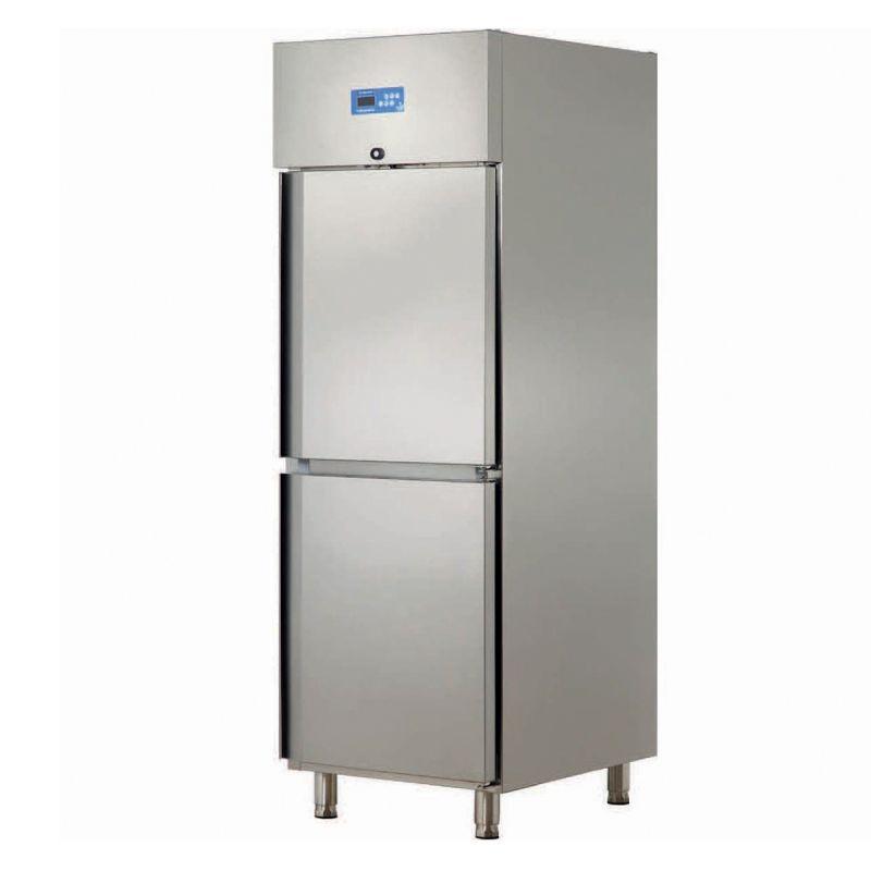 Dulap congelare simplu  cu 2 usi INOX 304 | Congelator profesional inox  Ozti