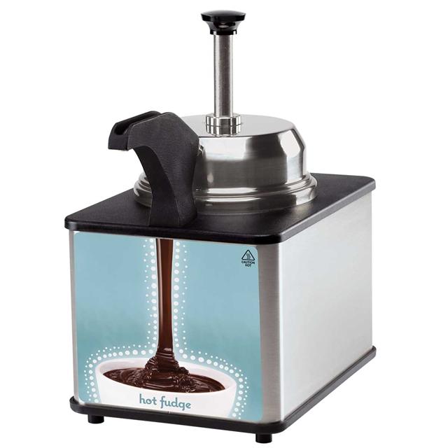 Aparat mentinere calda toppinguri cu vascozitate mare