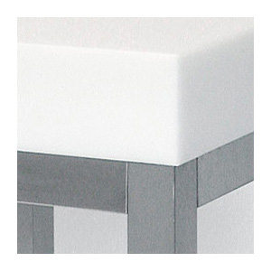 Blat polietilena 50 x 50 x 8 cm ALB