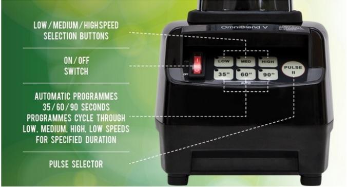 Blender profesional Omniblend 1.5l JTC