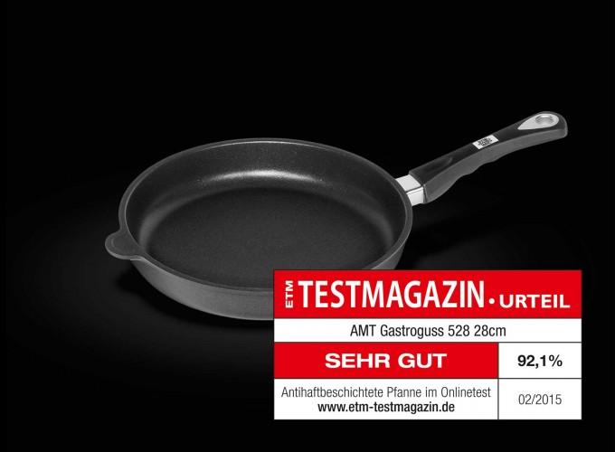 Tigaie  profesionala multifunctionala sntiaderenta AMT Gastroguss ( Germania) 28cm, Inaltime 5cm