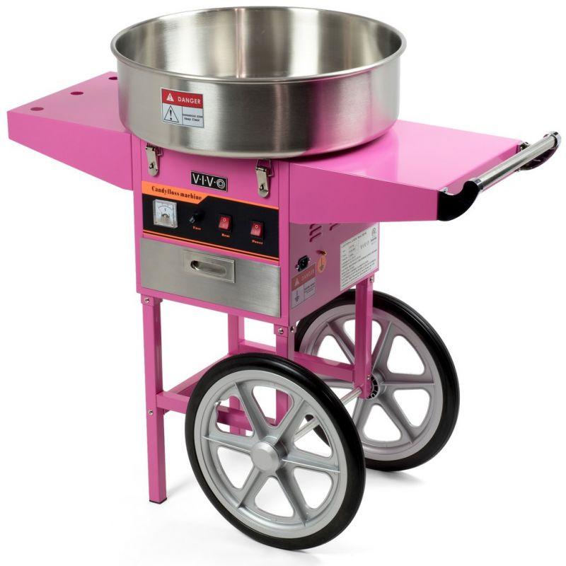 Masina vata de zahar | Aparat vata de zahar electric cu carucior