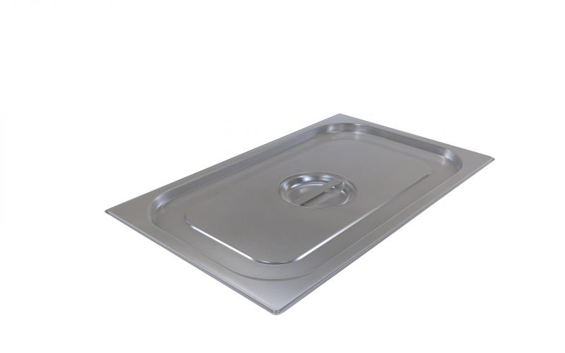 Capac gastronorm | GN 2/1 inox