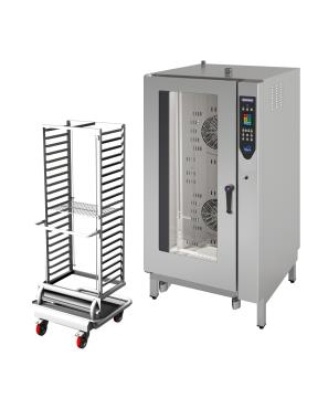 Cuptor profesional LenghtWise electric Combi, touch screen, 20 tavi GN 1/1