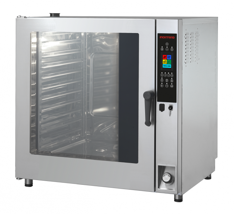 Cuptor profesional LenghtWise electric Combi, touch screen, 11 tavi GN 2/1