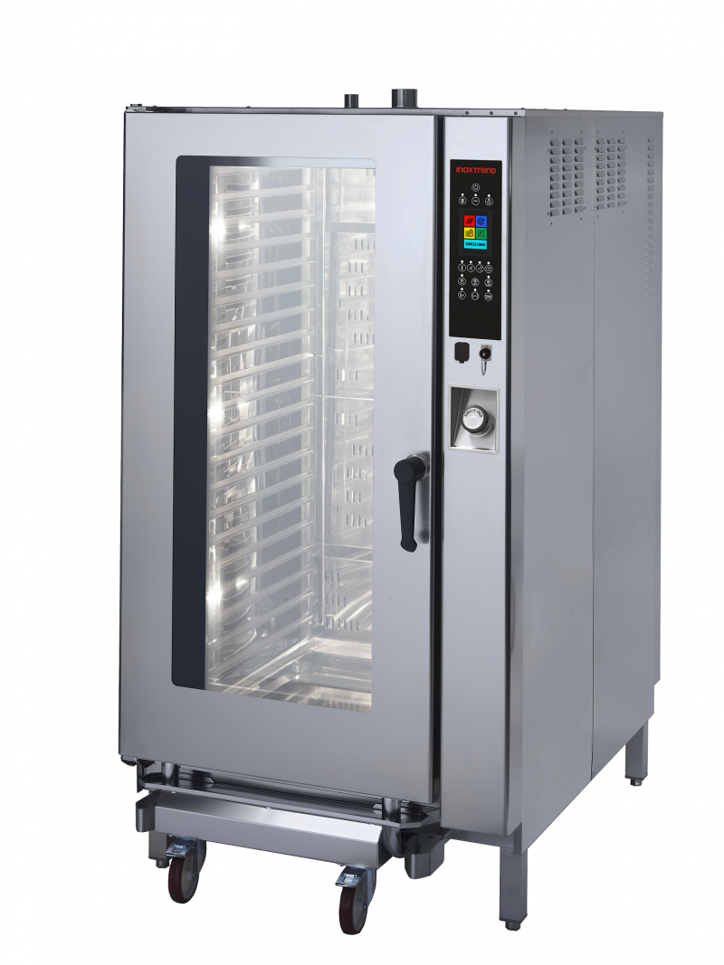 Cuptor profesional LenghtWise electric Combi, touch screen, 20 tavi GN 2/1