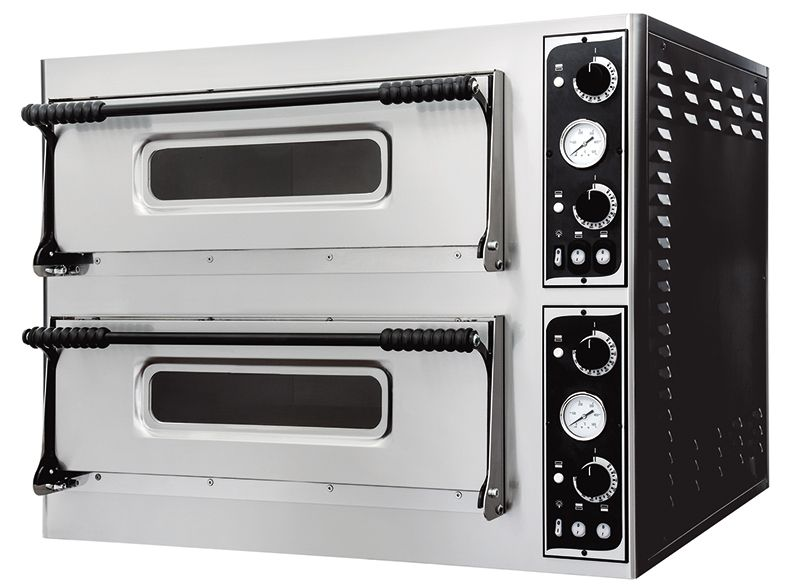 Cuptor electric 8 pizza 32 cm, 2 camere