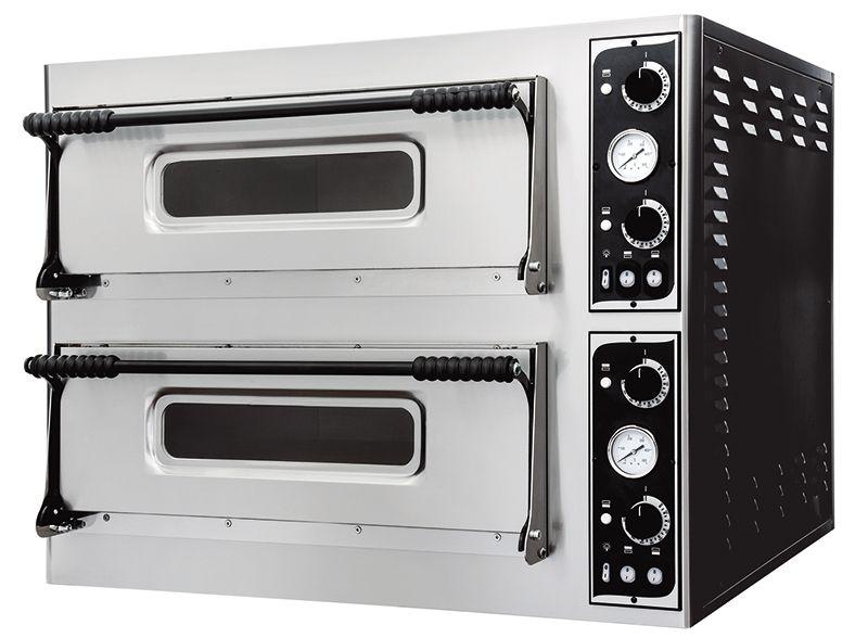 Cuptor electric 12 pizza 32 cm, 2 camere