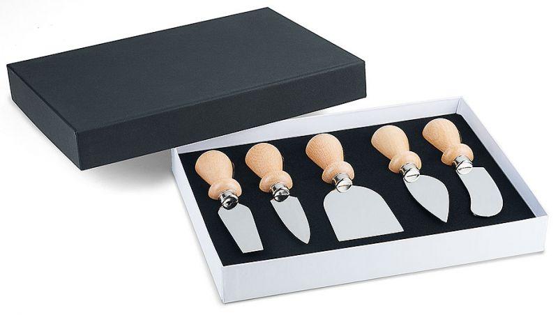 Set 5 cutite pentru branzeturi
