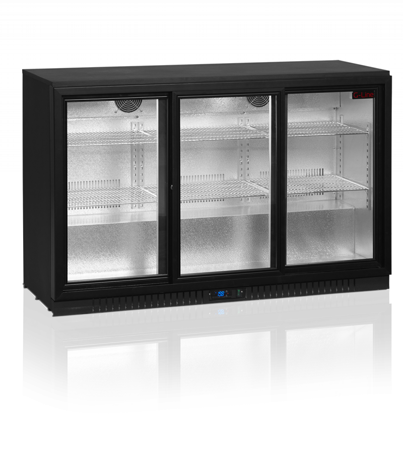 Vitrina frigorifica profesionala cu 3 usi glisante