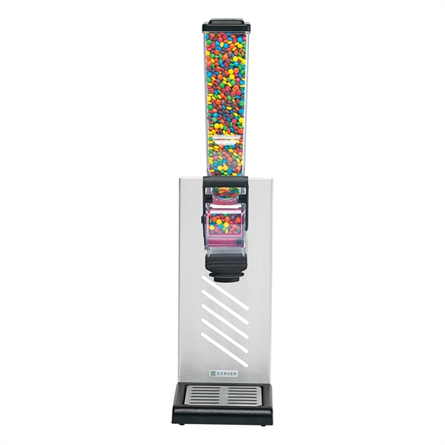 Dispenser   Dozator bomboane 2 L slim line cu suport