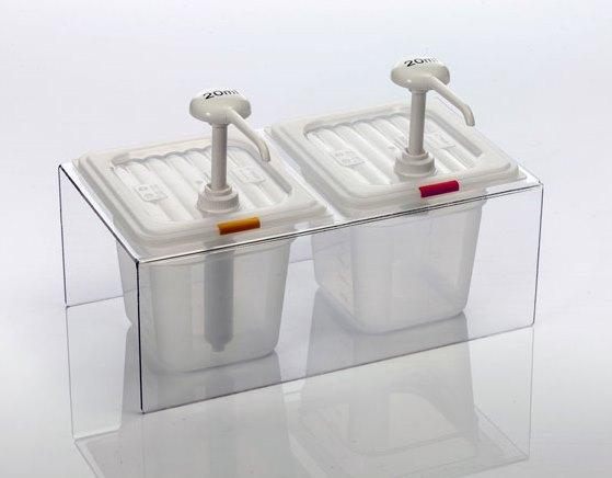 Dispenser | Dozator  dublu pentru sosuri