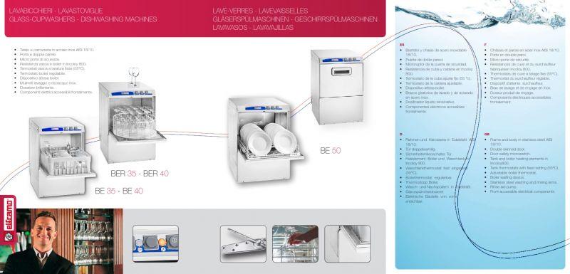 Masina profesionala de spalat pahare  - Elframo