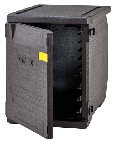 Container izoterm Termobox   Cutie termica transport 60x40 cm cu 6 saniere