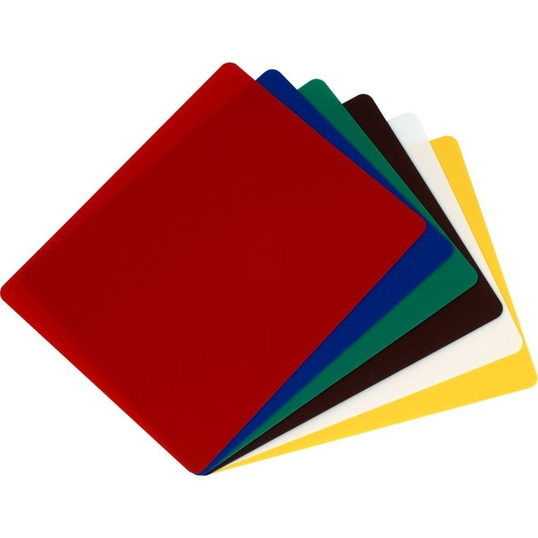 Blat taiere polietilena | Tocator rosu 45X30X1.2 CM