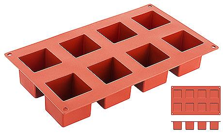 Forma  silicon Wurfel (8 forme)