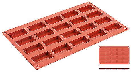 Forma silicon Flachbarren (20 forme)