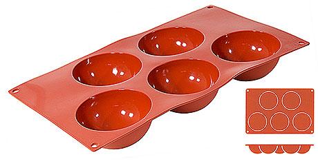 Forma silicon Halbkugel (5 forme)