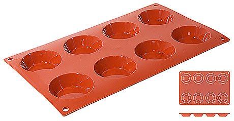 Forma  silicon Tartelette (8 forme)