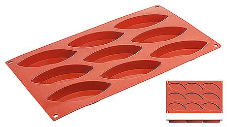 Forma  silicon Schiffchen (9 forme)