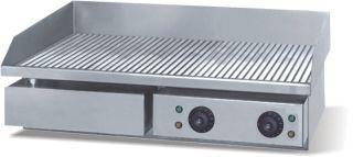 Grill | gratar striat din inox 4.4 kW - electric