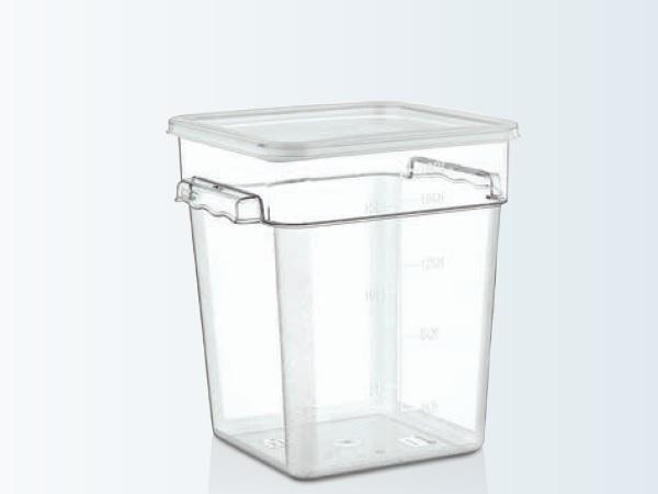 Container depozitare policarbonat cu capac 17,2 lt