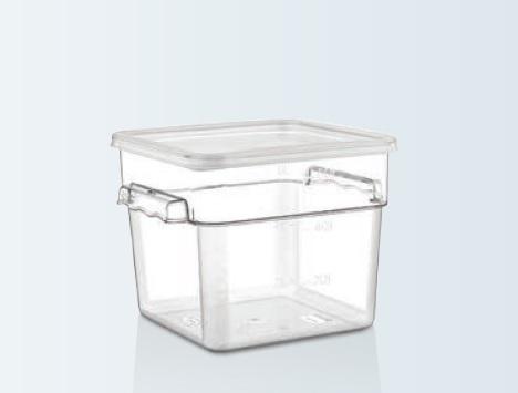 Container depozitare policarbonat cu capac 5,7 lt